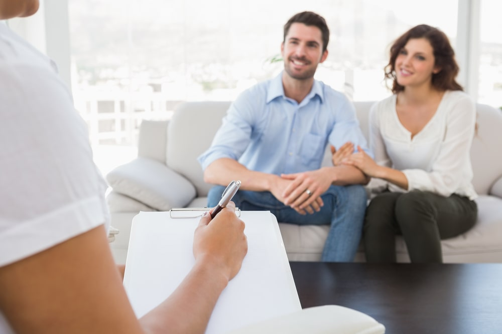 Couple Having Counseling In Idaho Falls